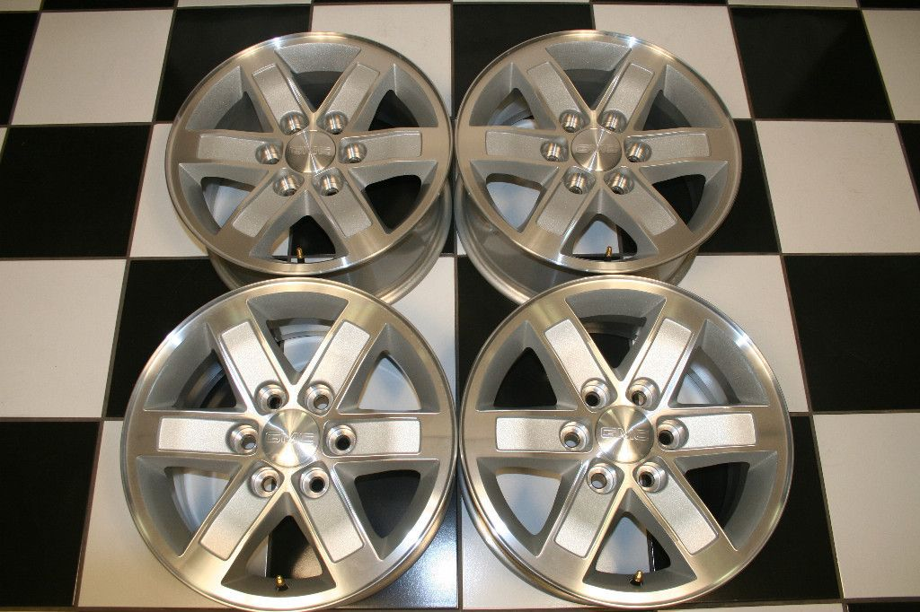 1500 Sierra Denali Yukon XL Factory 17 Wheels Rims 5296 Set 4