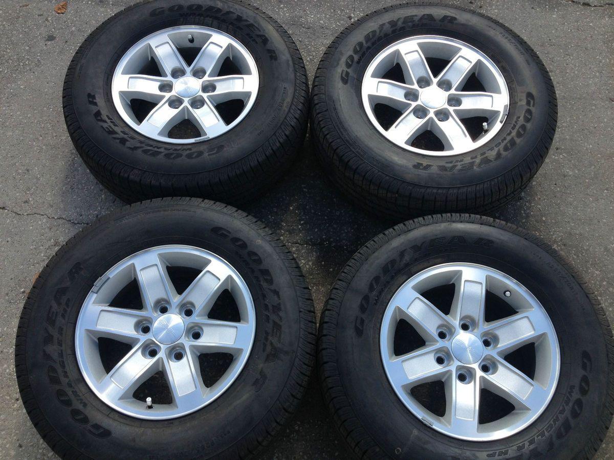 Chevy 1500 17 Wheels Rims and Tires YUKON TAHOE DENALI Sierra OEM RIms